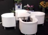 fotele BILBAO i stolik LATE