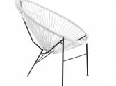 ogrodowe krzeslo acapulco białe