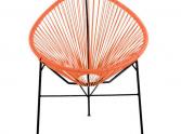 krzesło ogrodowe acapulco czerwone