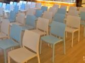 krzeslo caspe niebieskie