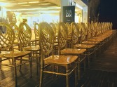 ślubne krzesła weselne