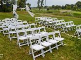 krzesła ślubne wimbledon