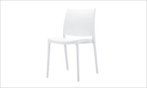 krzeslo CASPE białe