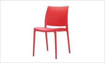 krzesło CASPE czerwone