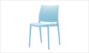 krzesło CASPE niebieskie