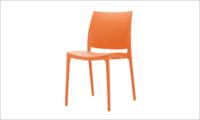 krzesło CASPE pomarańczowe
