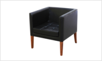 fotel ROMA czarny