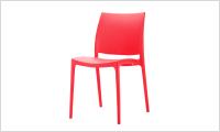 krzeslo CASPE czerwone