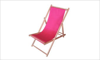leżak SUN amarantowy