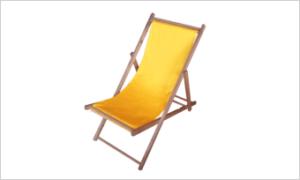 leżak SUN żółty