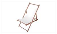 leżak SUN biały