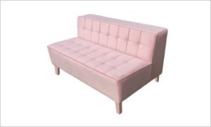 kanapa VIGO love różowa