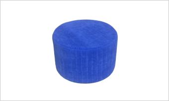 pufa GLAM 55 niebieska