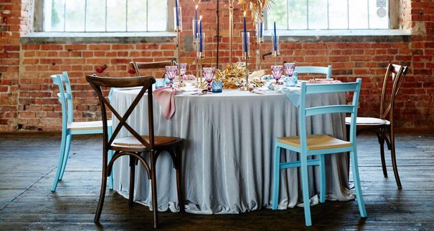 krzesła weselne wynajem